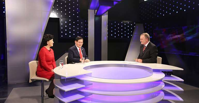Exclusive Interview With Peace Advocate Mr. Man Hee Lee And IWPG Leader Ms. Nam Hee Kim Presented By News 24 Of Albania