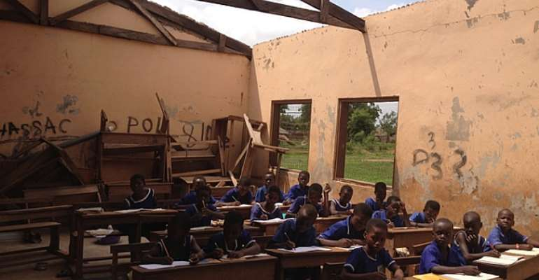 Over 50 schools ravaged by rainstorm in N/R yet to be fixed