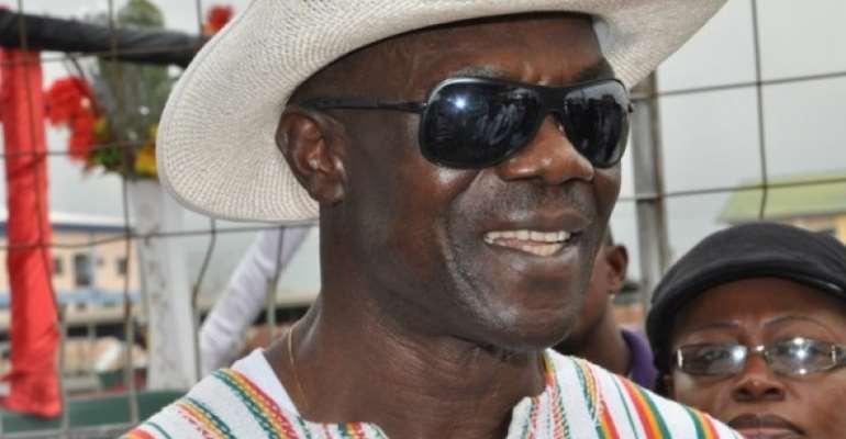 Former National Security Coordinator Colonel Larry Gbevlo Lartey
