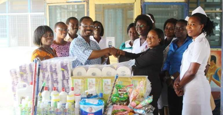 Fruitful Ministries donates to hospitals