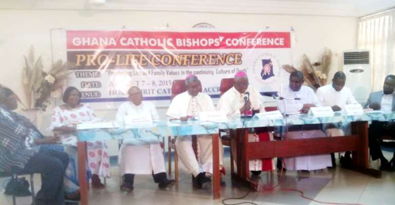 Kick Against Condom Use, Abortion And Others…Catholic Bishops Tell Gov't