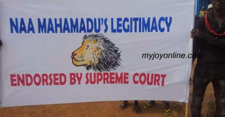 Dagbon crisis: Abudus petition Mahama over access to Gbewa Palace