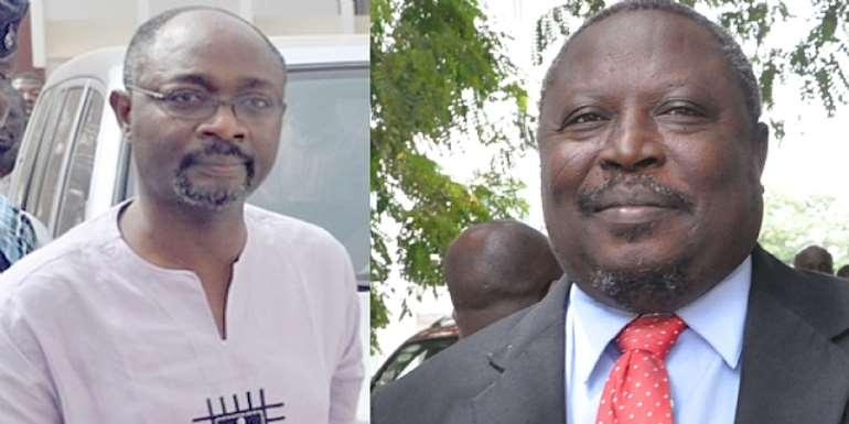 Alfred Agbesi Woyome and Martin Alamisi Amidu