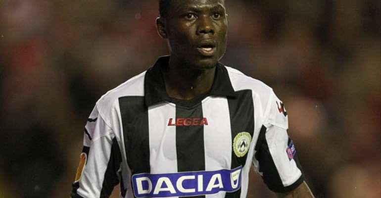 Emmanuel Agyeman-Badu hails Udinese's fighting spirit