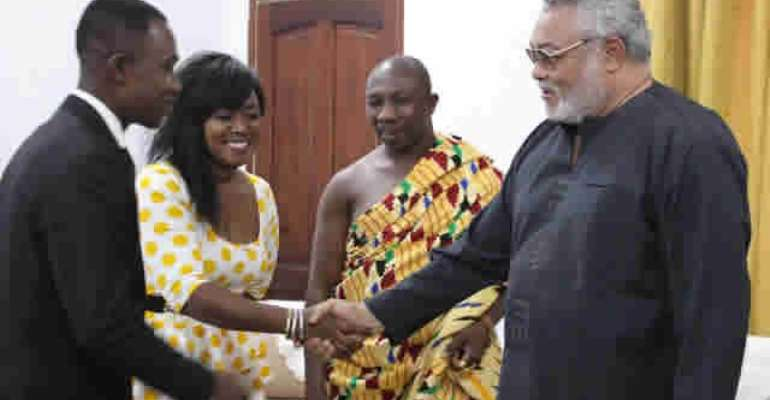 Rawlings calls for decent use of airwaves