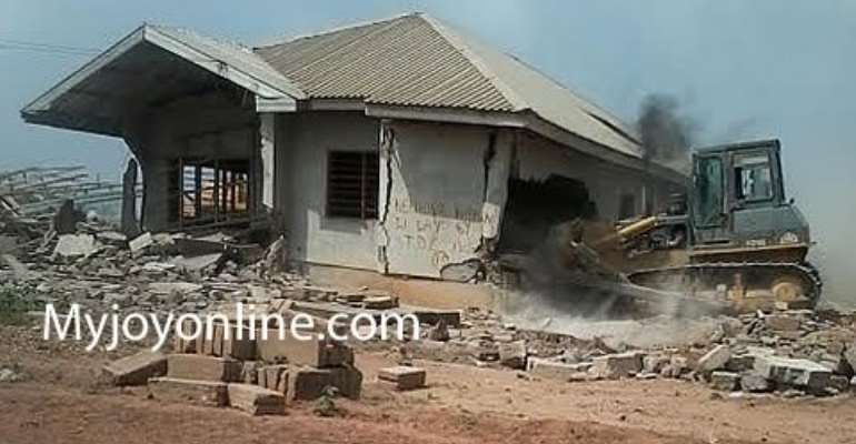 Tension mounts between Adjei Kojo residents and TDC over reallocation of lands
