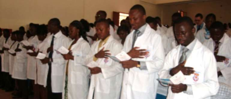 UCC School of Medical Sciences holds 3rd White Coat Ceremony