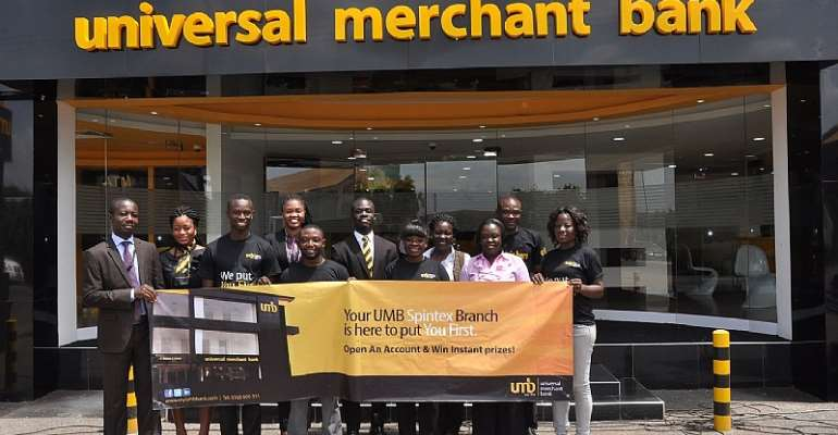 Universal Merchant Bank opens two new branches