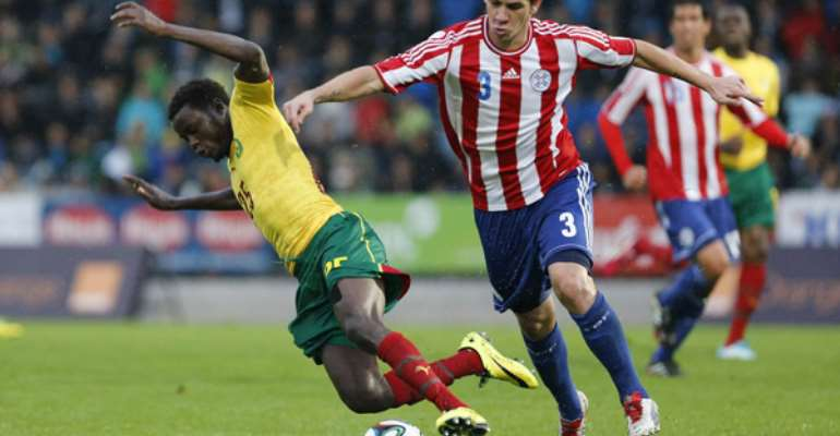 Cameroon fall to Paraguay in World Cup friendly