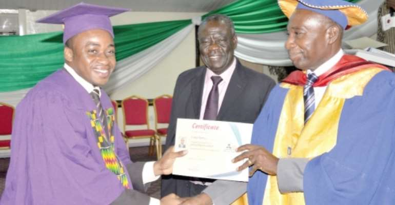Combine academic lessons with practical, entrepreneurial skills — KAMA CEO