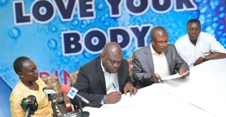 Voltic (GH) renews partnership with Accra Psychiatric Hospital