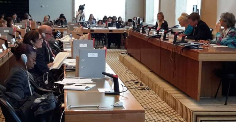 Ghana appears before UN Committee on Rights of the Child