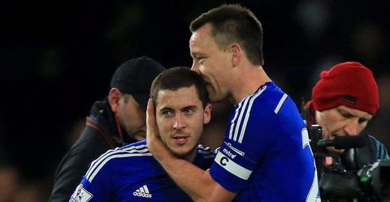 John Terry: Eden Hazard is as good as Lionel Messi and Cristiano Ronaldo