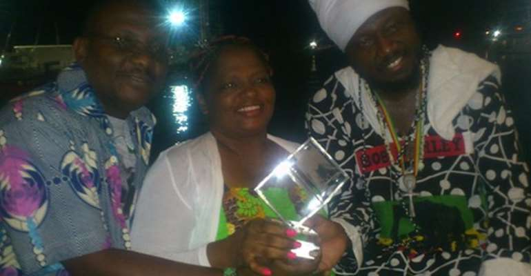 Blakk Rasta and the Herbalist band win award at FIM festival in Italy
