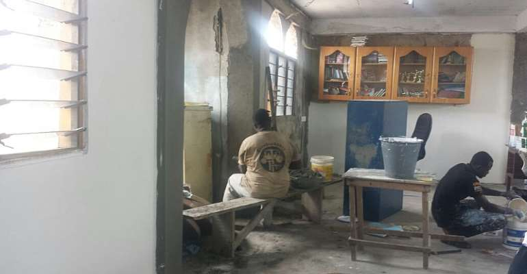 The Sangy Foundation Supports Tech Need Girls And Achievers Club With Renovation