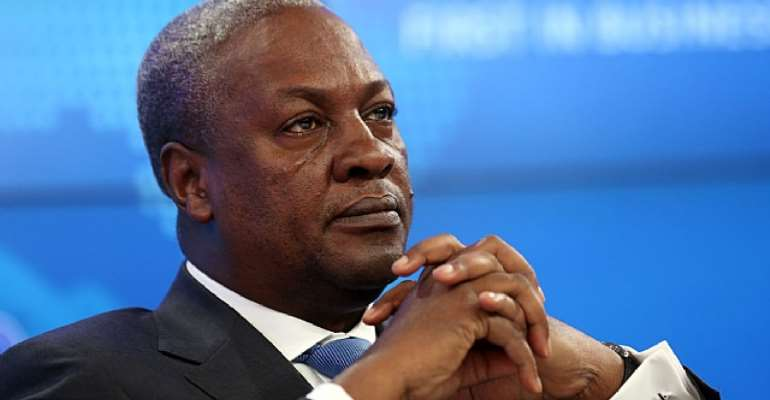 Mahama Obviously Didn't Care
