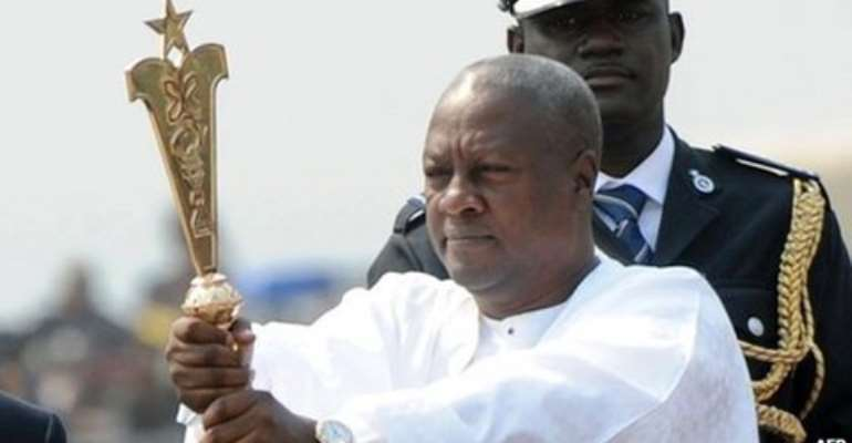 I've laid a 'solid foundation' this yr; will shift to 2nd gear 2014 - Mahama