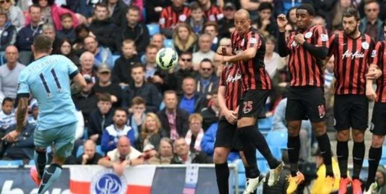 Man City push six past relegated QPR