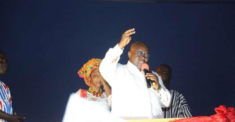 I'm not into politics to embezzle public funds - Akufo-Addo