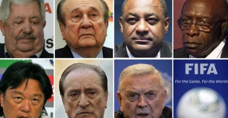 Who are the indicted Fifa officials?