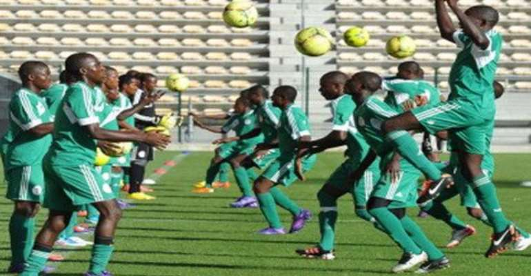 Eagles regroup in Uyo for Ghana Friendly