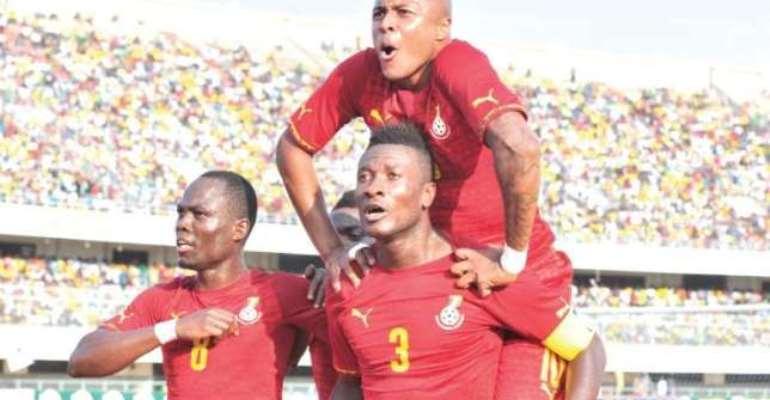 FIFA Rankings: Ghana drop in latest edition