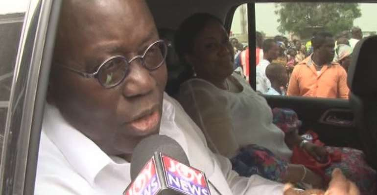 My 2016 resolution is to be President- Akufo-Addo