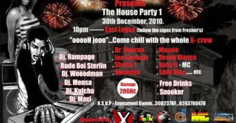 So X Crew presents House Party 1