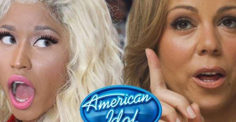 Nicki Minaj and Mariah Carey