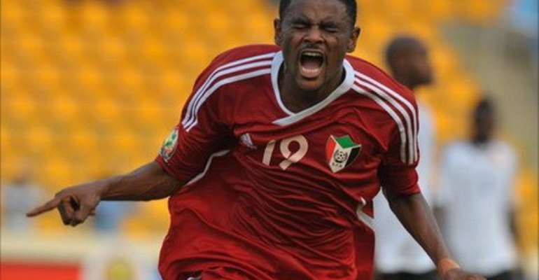 Saif Ali Sudan was ineligible to play for Sudan in their qualifier against Zambia last June