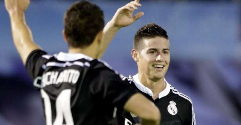 Red hot Javier Hernandez scores double in Real Madrid win