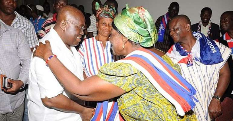 Trust me, I won't let you down; Akufo-Addo appeals to People of Volta