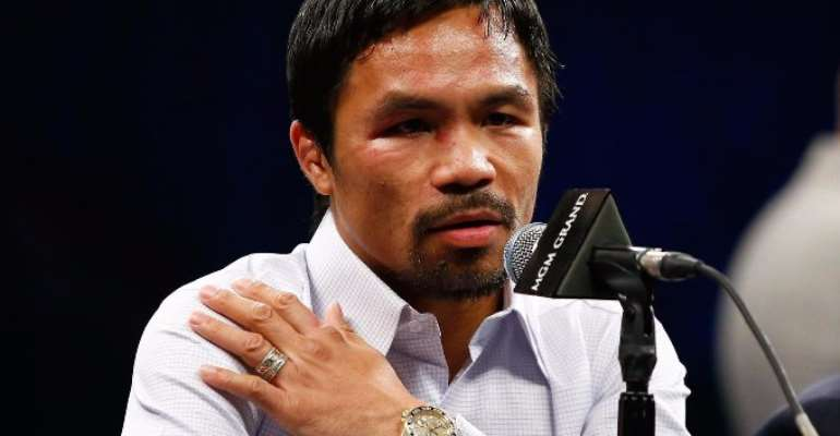 Pacquiao sued for $5m