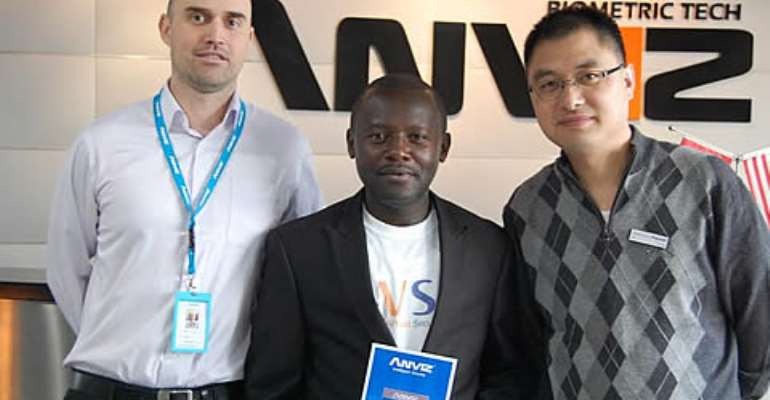 ANVIZ appoints VSA as authorized distributor; plans to assemble products in Ghana