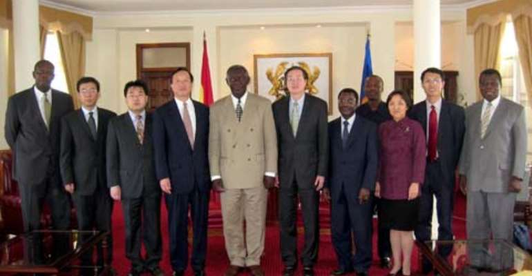 China Assures Ghana Of Financial Support For Bui Dam Project