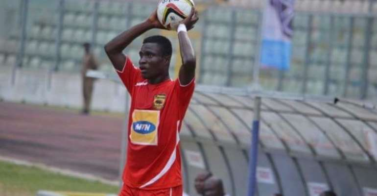 Asante Kotoko defender Edwin Tuffour impressed with quality in GPL