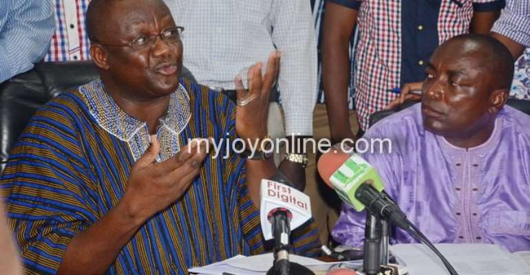 Paul Afoko, Kwabena Agyepong absent as Akufo-Addo preaches unity