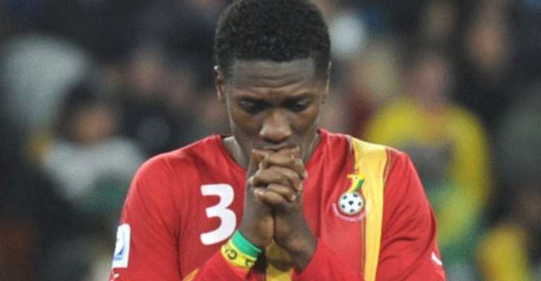 Gyan made  permanent Black Stars captain