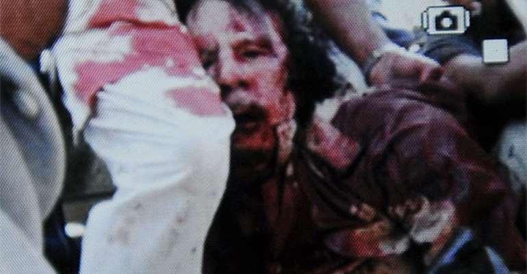 VIDEO: COLONEL MUHAMMAR GADDAFI IS DEAD