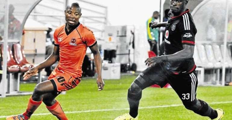 Ghana and Orlando Pirates man Edwin Gyimah