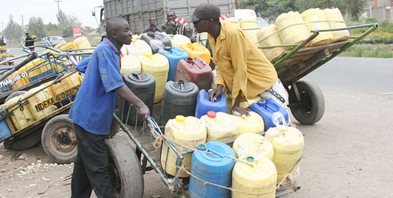 Acute water crisis hits Gomoa Brofo