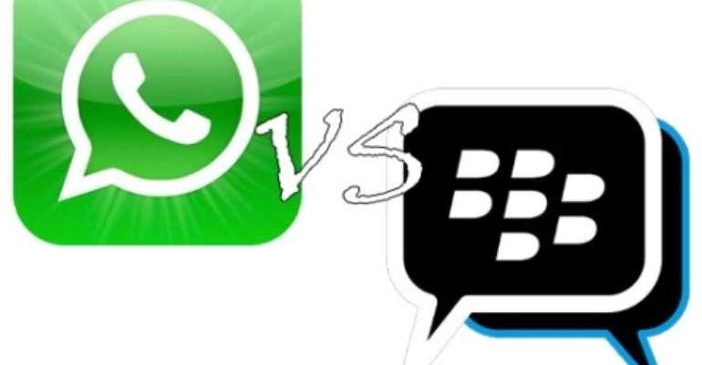 BBM and WhatsApp under siege