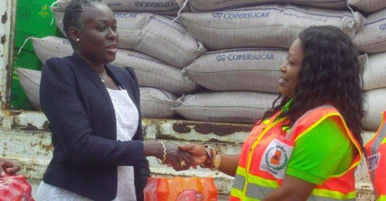 NADMO receives more donations