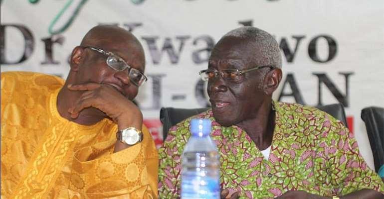 Afari-Gyan Bids Goodbye To Staff At EC
