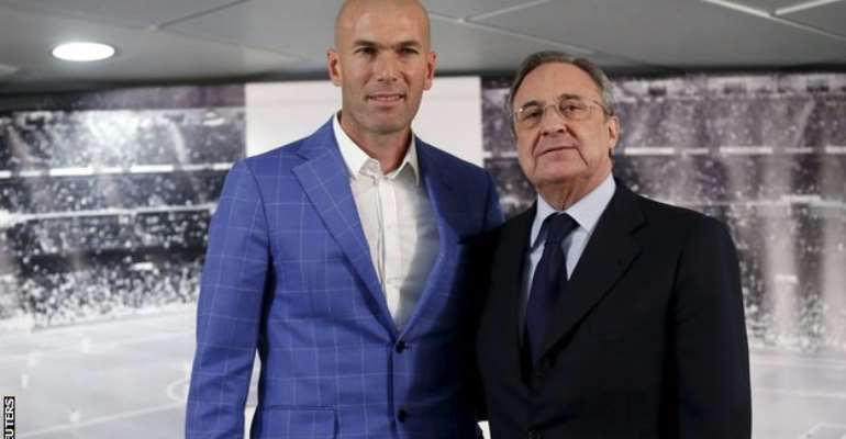 Florentino's axe: Zinedine Zidane is 11th Real Madrid coach in 12 years