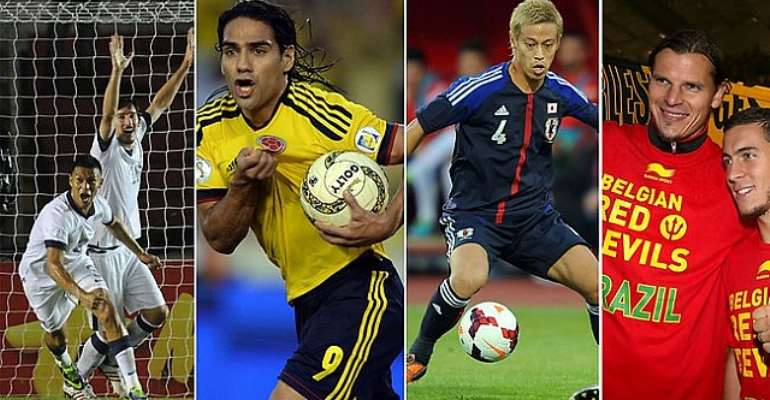 There are some pretty classy opponents ready to tackle the Socceroos