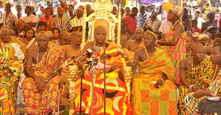 Togbui Afede: Hohoe events are unfortunate