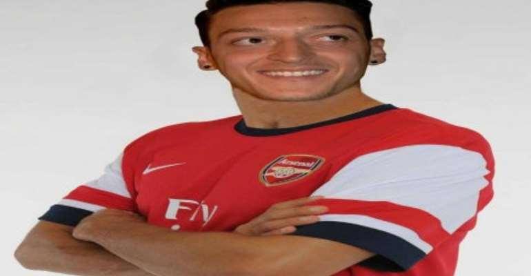 Mesut Ozil... Arsenal's new signing