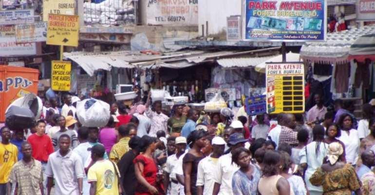 Traders Take Over Adenta-Madina Highway