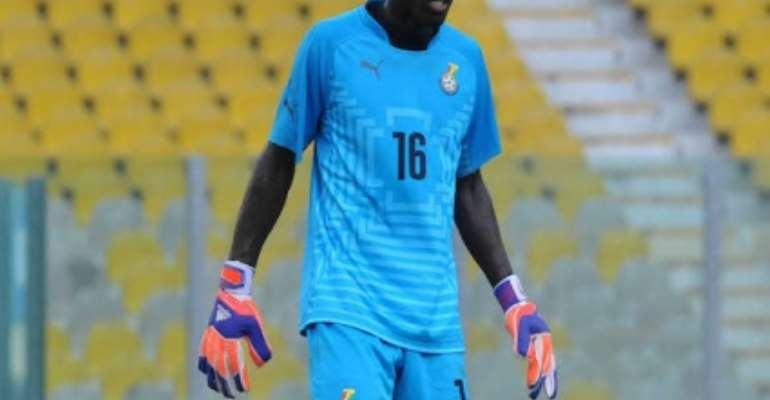 Wa All Stars goalie Richard Ofori